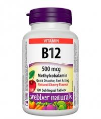 WEBBER NATURALS B12 500mcg. / 120 Tabs