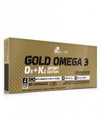 OLIMP Gold Omega 3 D3 + K2 Sport Edition / 60 Caps