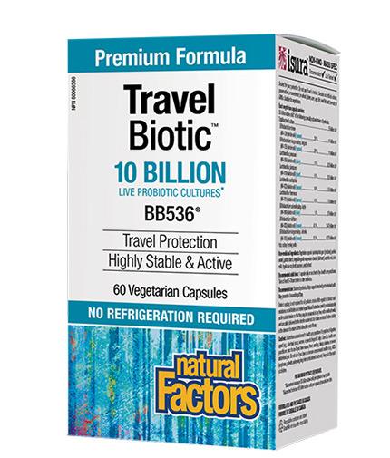 natural-factors Travel Biotic® BB536® / 60 Vcaps