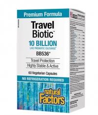 NATURAL FACTORS Travel Biotic® BB536® / 60 Vcaps