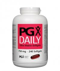 NATURAL FACTORS PGX®  Daily Ultra Matrix 750mg. / 240 Softgels