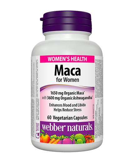webber-naturals Maca for Women / 60 Vcaps