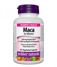 WEBBER NATURALS Maca for Women / 60 Vcaps