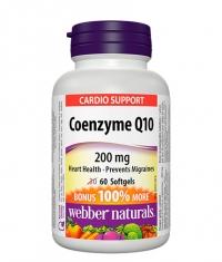 WEBBER NATURALS Coenzyme Q10 200mg / 60 Softgels