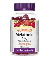 WEBBER NATURALS Melatonin Gummies 5mg. / 90 Gummies