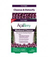 NATROL AcaiBerry Weekend Cleanse 3x10 Caps.