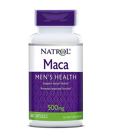 natrol Maca 500mg. / 60 Caps.