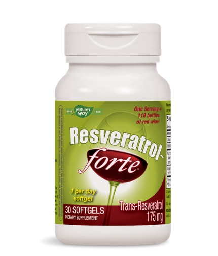 natures-way Resveratrol Forte 450mg / 30 Softgels