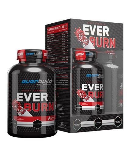 everbuild Ever Burn Night Formula / 120 Caps