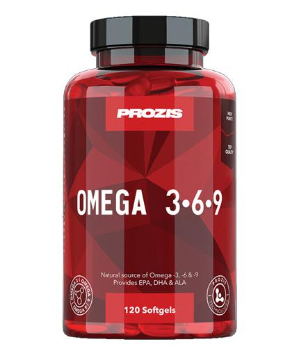 prozis Omega 3-6-9 / 120 Softgels