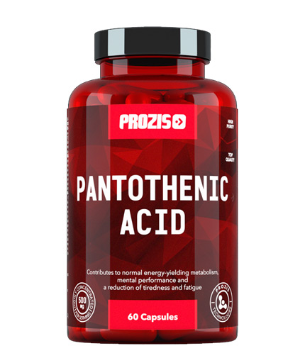 prozis Pantothenic Acid Vitamin B5 500mg / 60 Caps