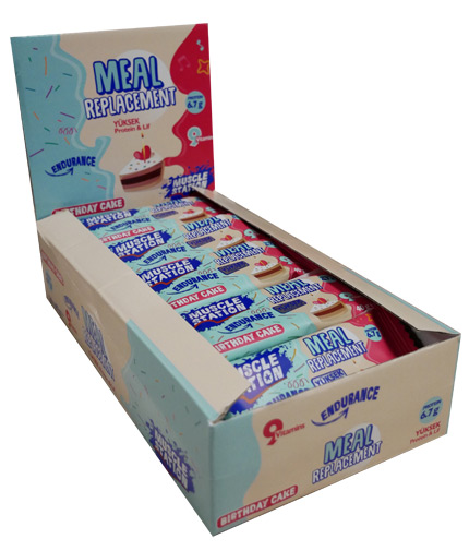 muscle-station Meal Replacement Box 24x40