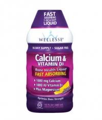 WELLESSE Calcium & Vitamin D3 Liquid 1000mg