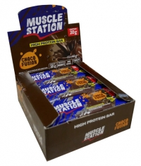 MUSCLE STATION Choco Fusion Box 12x65