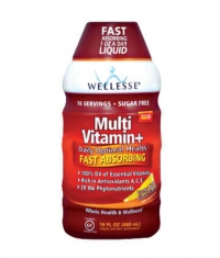 WELLESSE MultiVitamin + Liquid
