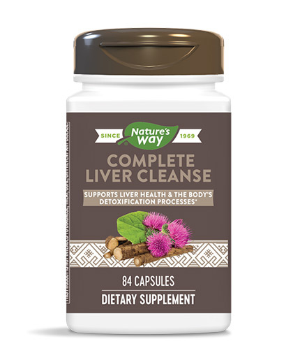 natures-way Complete Liver Cleanse / 84 Caps