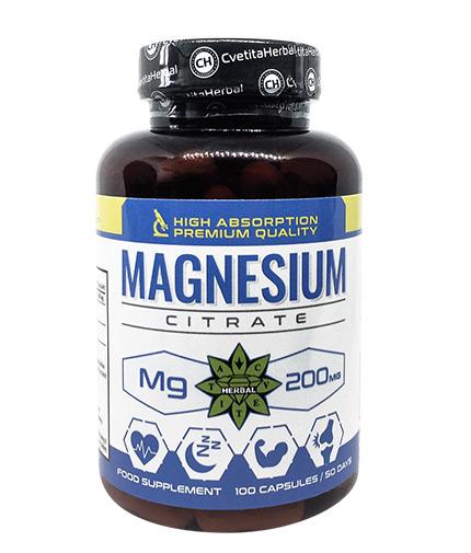 cvetita-herbal Magnesium Citrate 200mg / 100 Caps