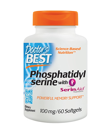 doctors-best Phosphatidyl Serine 100mg / 60 Softgels