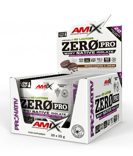 AMIX Zero Pro Sachets Box / 20x30g