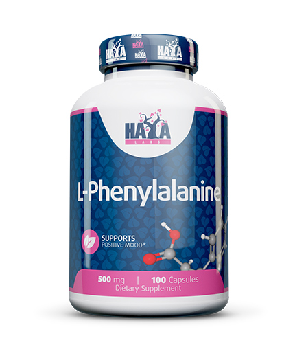 HAYA LABS L-Phenylalanine 500mg / 100 Caps