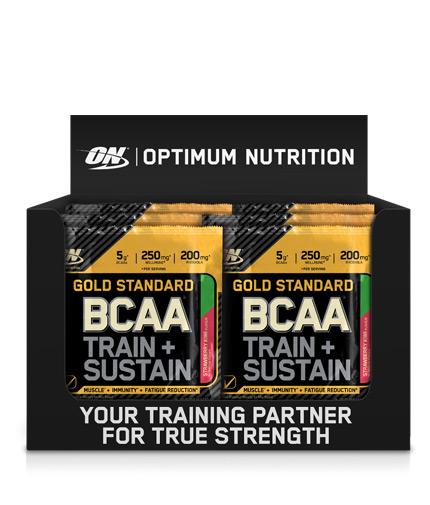 optimum-nutrition Gold Standard BCAA Train + Sustain Box / 24x19g