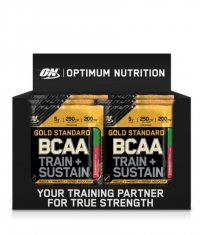 OPTIMUM NUTRITION Gold Standard BCAA Train + Sustain Box / 24x19g