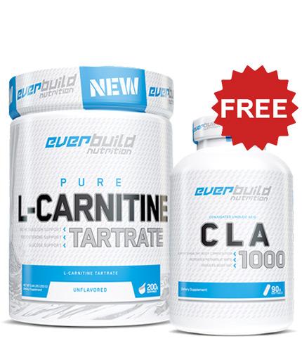 promo-stack EB L-Carnitine Tartrate + CLA