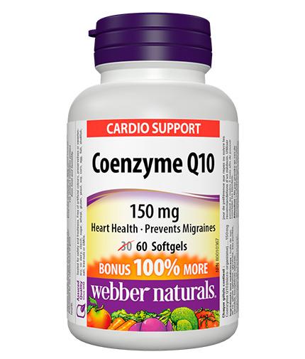 webber-naturals Coenzyme Q10 150mg / 60 Softgels