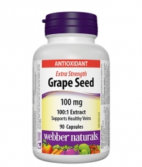WEBBER NATURALS Grape Seed Extra Strength 100mg / 90 Caps