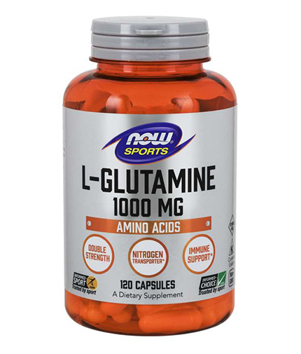 now Sports L-Glutamine 1000mg / 120 Caps