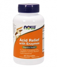 NOW Acid Relief With Enzymes / 60 Chews