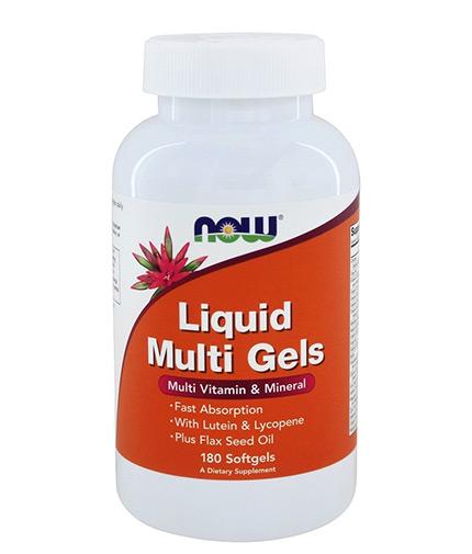 now Liquid Multi Gels / 180 Softgels