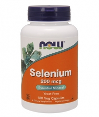NOW Selenium 200mcg / 180 Caps