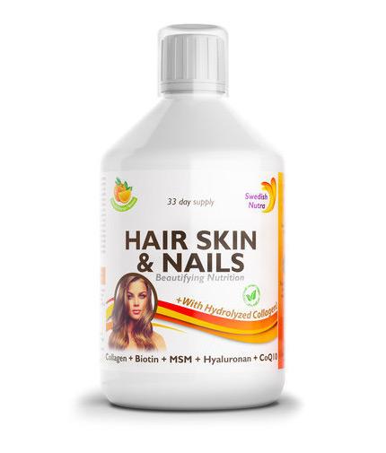 swedish-nutra Hair, Skin and Nails / 500ml