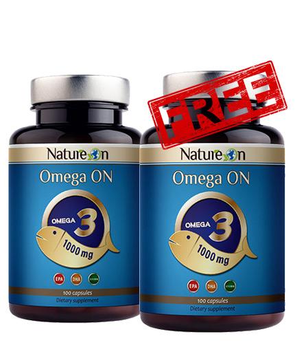 promo-stack NATURE ON Omega-3 1+1 FREE Stack