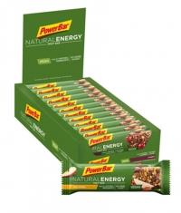 POWERBAR Natural Energy Fruit & Nut Bar box / 24x40gr