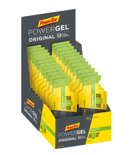 powerbar Powergel Original with Caffeine / 24x41gr