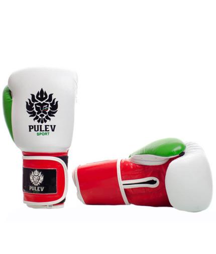 pulev-sport Boxing Gloves Bulgarian Power Lion Logo Strap