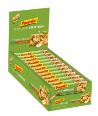 POWERBAR Natural Protein Bar Box / 24x40gr