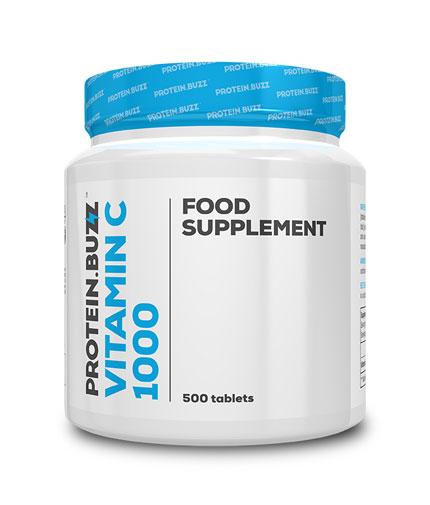 protein-buzz Vitamin C 1000 / 500tabs.