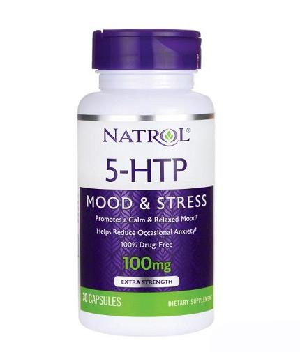 natrol 5-HTP 100mg Mood & Stress / 30 Caps