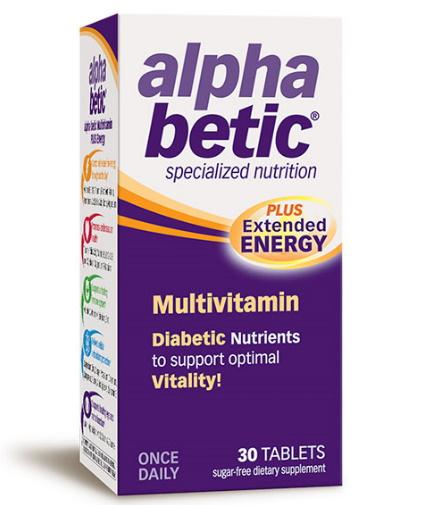 alpha-betic Multivitamin / 30 Tabs