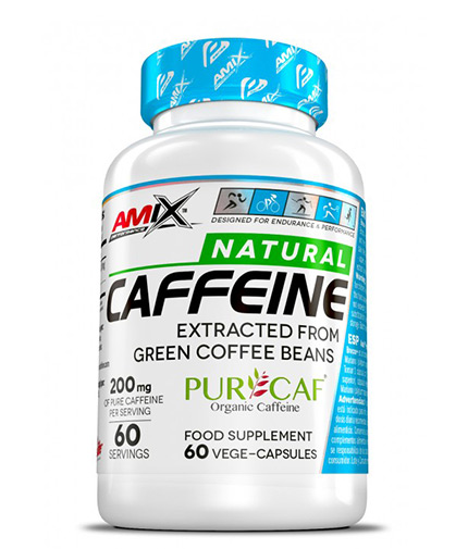 amix Natural Caffeine PurCaf® / 60 Vcaps