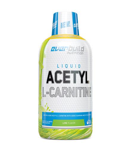 everbuild Liquid Acetyl L-Carnitine + Guarana / 495ml