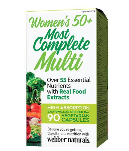 webber-naturals Women's 50+ Most Complete Multi / 90 Caps
