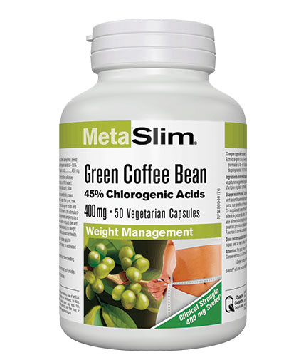 webber-naturals MetaSlim Green Coffee Bean / 50 Vcaps