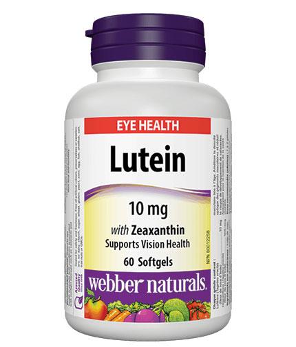 webber-naturals Lutein 10mg / 60 Softgels