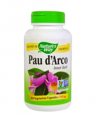 NATURES WAY Pau d'Arco Inner Bark 545mg / 180 Caps