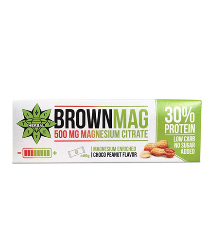 cvetita-herbal BrownMag Bar Peanut / 60g