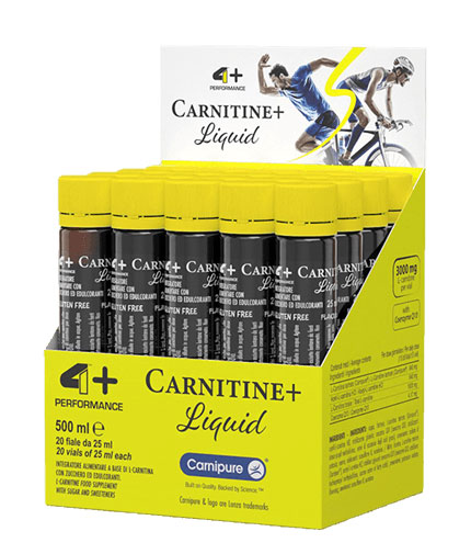 4-nutrition Liquid Carnitine + 3.0 / 20x25ml